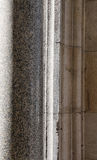 Granite column and stone blocks Stock Photos