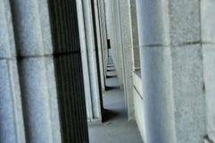 Granite Columns Stock Photo