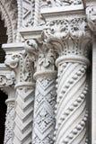 Granite Columns Stock Photography
