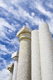 Granite columns Royalty Free Stock Photo
