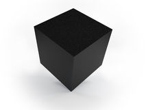 Granite cube Royalty Free Stock Images