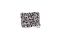 Granite Cube. Stock Photos