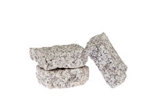 Granite Cubes. Stock Photo