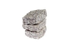 Granite Cubes. Royalty Free Stock Photo