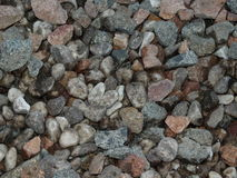 Granite debris as background Royalty Free Stock Image