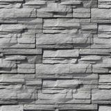 Granite decorative brick wall seamless background Royalty Free Stock Images
