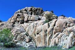 Granite Dells Royalty Free Stock Image