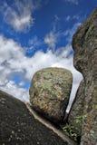 Granite dike Royalty Free Stock Images