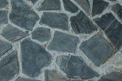 Granite flagstone pavement wall background Stock Photography