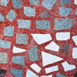 Granite floor material Stock Images