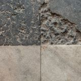 Granite Floor Tiles, Old Town Market Square, Warsaw, Poland royalty free stock image