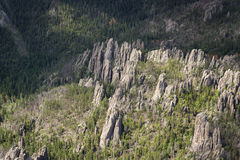 Granite formations in the Black Hills Royalty Free Stock Image