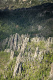 Granite formations in the Black Hills Stock Photography