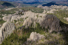 Granite formations in the Black Hills Royalty Free Stock Photos