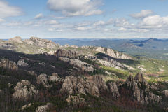 Granite formations in the Black Hills Royalty Free Stock Photo