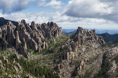Granite formations in the Black Hills Royalty Free Stock Photography