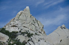 Granite Formations in the City of Rocks Stock Photography