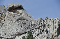 Granite Formations in the City of Rocks Stock Images