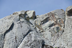 Granite Formations in the City of Rocks Stock Image
