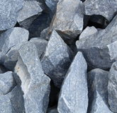 Granite fragment. Heap of granite fragments (close-up Royalty Free Stock Image