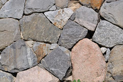 Granite and gneiss rock background Royalty Free Stock Photo