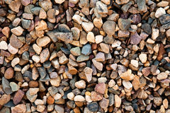 Granite gravel. Can be used as background Stock Photos