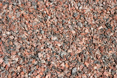 Granite gravel Stock Image