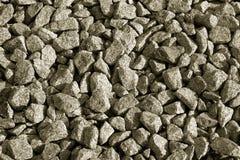 Granite gravel stock image