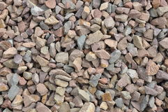 Granite gravel as background Royalty Free Stock Photo