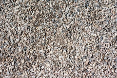 Granite gravel texture Stock Photography