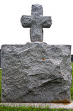Granite Gravestone Stock Photography