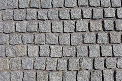 Granite grey cobbles abstract background Royalty Free Stock Photography