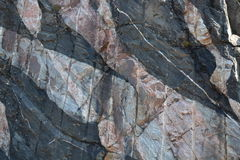 Granite Intrusion Royalty Free Stock Photography