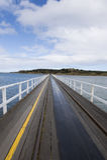 Granite Island Causeway royalty free stock photo