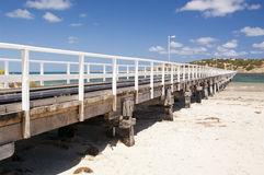 Granite Island Jetty Royalty Free Stock Photos