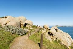 Granite Island Rocks Royalty Free Stock Photography