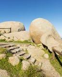 Granite Island Rocks Stock Photo