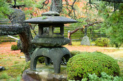 Granite lantern Royalty Free Stock Images