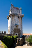 Granite and marble keep (Torre de Menagem), in Beja, Portugal Royalty Free Stock Image