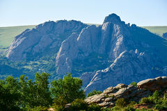 The granite megalith peaks Royalty Free Stock Photos