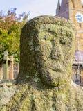 Granite menhir or standing stone Royalty Free Stock Photos