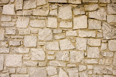 Granite and Mortar Wall Stock Photography