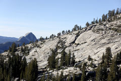 Granite Mounds, Yosemite National Park Royalty Free Stock Image