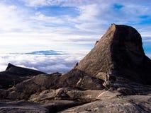 Granite mountain landscape - Mount Kinabalu Royalty Free Stock Images