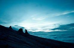 Granite mountain landscape - Mount Kinabalu Stock Images