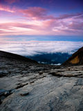 Granite Mountain Landscape - Mount Kinabalu Stock Image