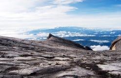 Granite mountain landscape - Mount Kinabalu Royalty Free Stock Photos