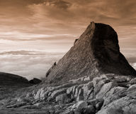 Free Granite Mountain Landscape - Mount Kinabalu Royalty Free Stock Image - 7710056