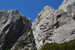 Granite mountains in the Cochamó Valley, Lakes Region of Southern Chile. The Cochamó valley in Chile`s Lakes region Los Lagos offers spectacular mountain royalty free stock images