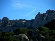 Granite mountains Stock Photo